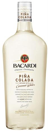 Bacardi Breezer Caribbean Pina Colada Rum